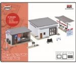 Model Power 212 Mike's Gas Auto Supply & Wash Building Kit